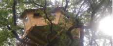 Week-end dans une cabane dans les arbres dans le Morbihan en Bretagne