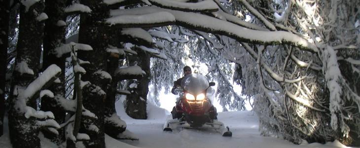 Randonnée motoneige Chamrousse