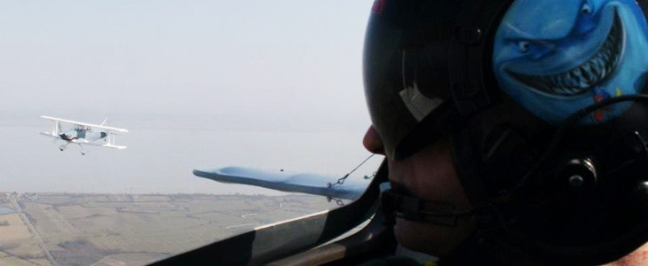 Vol en patrouille - expérience pilote de chasse