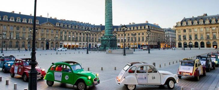 Visite de Paris en 2CV