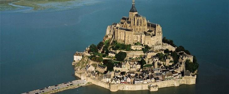 Baptême en hélicoptère Mont St Michel (35mn)