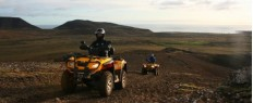 Randonnée en quad panorama d'Islande