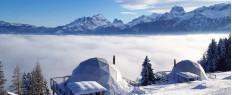 Week-end découverte dans un igloo Suisse