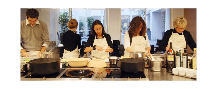 Week end cours de cuisine paris chez alain ducasse for Smartbox cours de cuisine