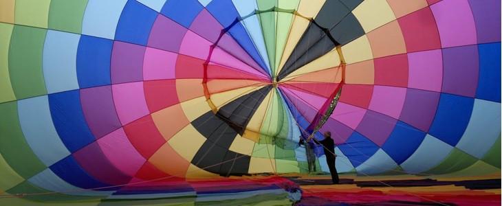 Vol en montgolfière depuis Jonzac en Charente Maritime