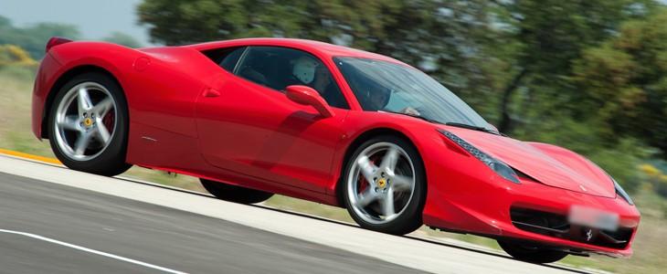 Stage pilotage Ferrari F458 Italia Ferte Gaucher Paris Est