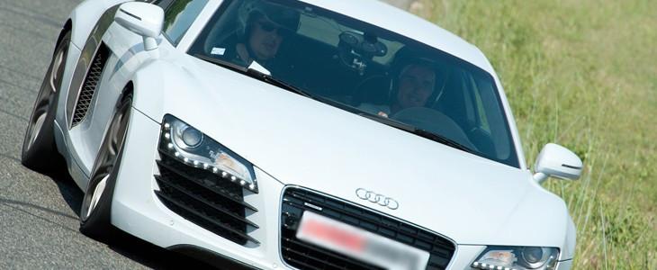 Stage pilotage Audi R8 Ferte Gaucher Paris Est