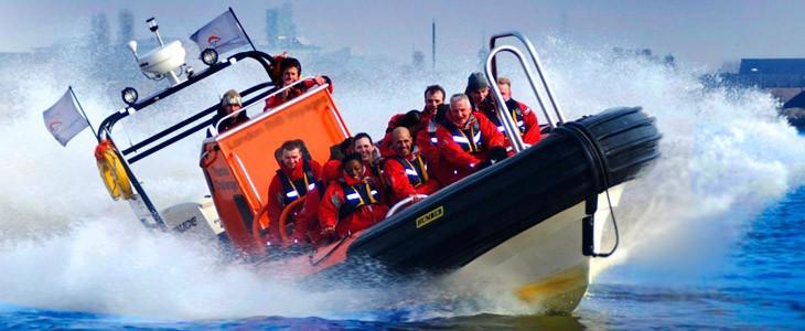 Croisière Speed Boat sur la Tamise à Londres