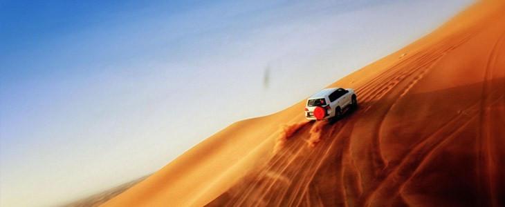 Excursion en 4x4 + diner BBQ dans le désert de Dubaï