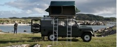 Glamping en Land Rover Expedition en Ecosse