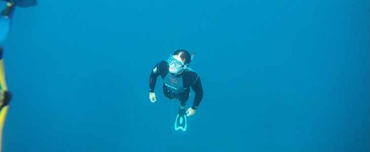 Randonnée plongée aquaphonique avec tuba - snorkeling Fréjus