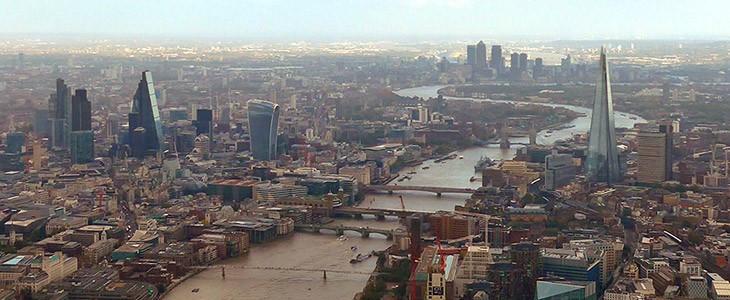 Vol en hélicoptère à Londres