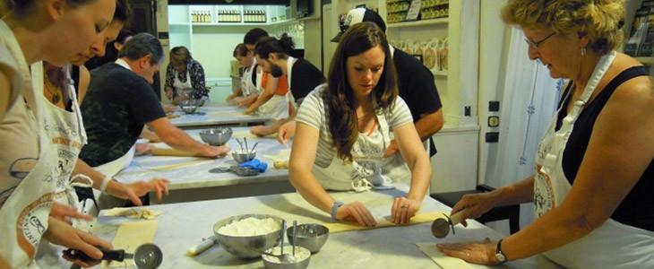Cours de cuisine à Florence + Visite du marché