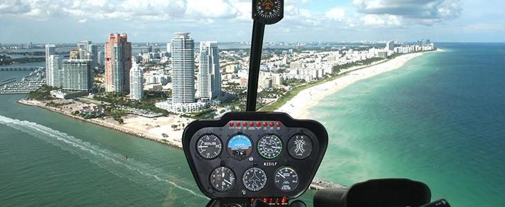 Vol en hélicoptère à Miami