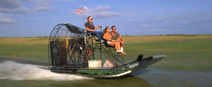 Découverte des Everglades en hydroglisseur Airboat