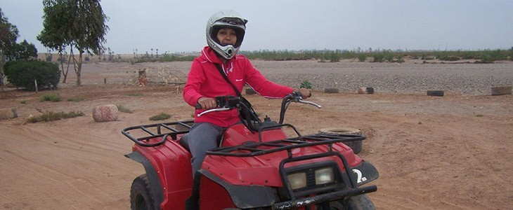 Randonnée en quad à Marrakech