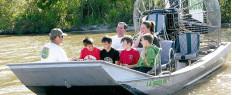 Excursion en hydroglisseur airboat dans le bayou de la Nouvelle-Orléans