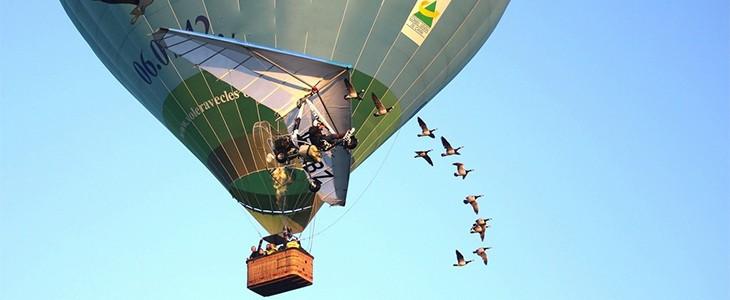 Vol en montgolfière dans le Cantal