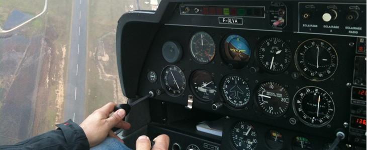 Initiation pilotage avion Aix-en-Provence