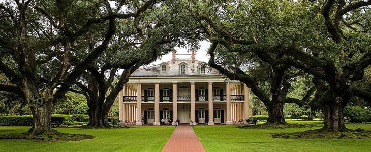 Excursion découverte de 2 plantations de Louisiane