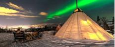 Séjour 4 jours Aurores Boréales, Husky et motoneige à Tromso