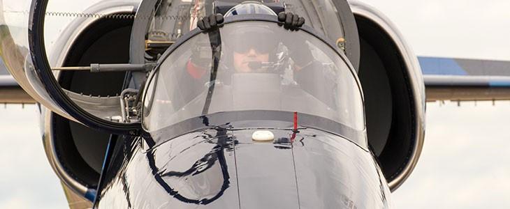 Vol en avion de chasse L-39 à Reims Prunay
