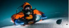 Plongée sous glace Alpes Val Thorens