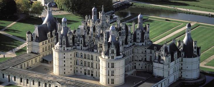 Baptême en hélicoptère Blois survol des châteaux de la Loire