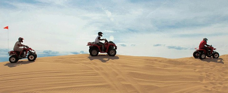 Excursion en quad ATV Nellis Dunes, Las Vegas