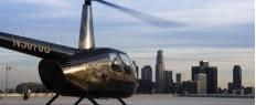 Vol privé en hélicoptère avec atterrissage en hauteur à Los Angeles, Californie