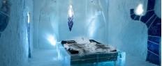 Séjour insolite dans un hôtel de glace en Laponie, Suède