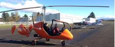 Vol d'initiation pilotage autogire proche Grenoble, Isère