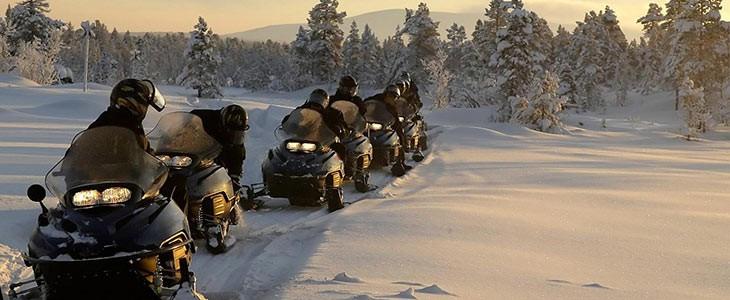 Raid motoneige au Québec, Canada