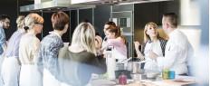 Cours de cuisine à l'école Scook Anne-Sophie Pic à Valence, Drôme