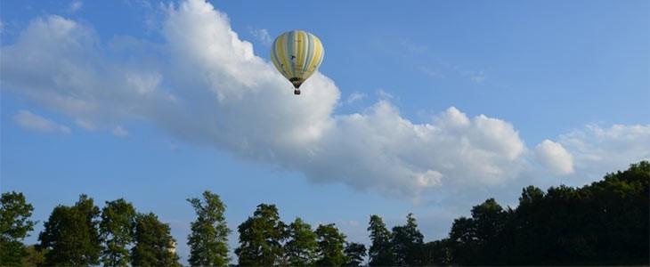 Vol en montgolfière La Dombes entre Bourg-en-Bresse et Lyon, Ain