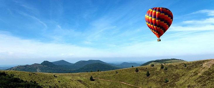 Vol en montgolfière privé proche Manosque, Alpes-de-Haute-Provence
