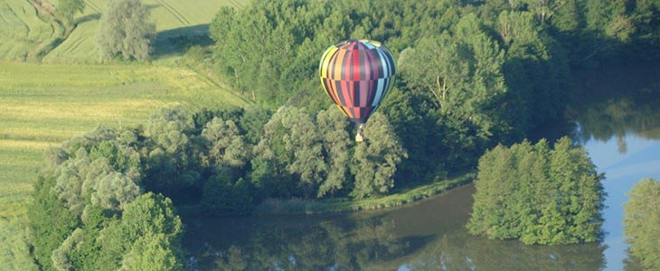 Vol en montgolfière à Dole, Jura