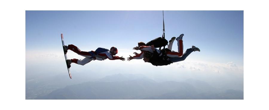saut en parachute hautes alpes