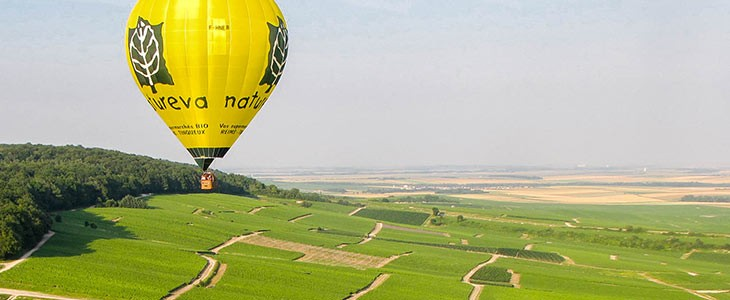Vol en montgolfière proche Reims, Marne