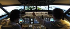 Simulateur de vol en Boeing pr. Colmar