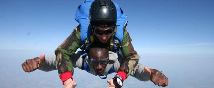 saut en parachute ile de france