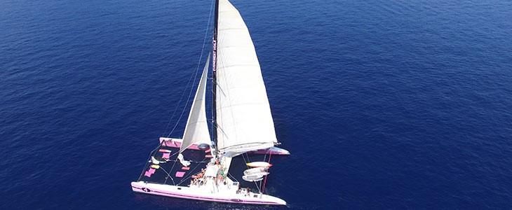 Sortie en mer à St Tropez en catamaran, Var