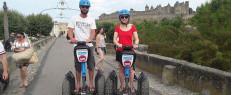 Visite insolite de Carcassonne en segway