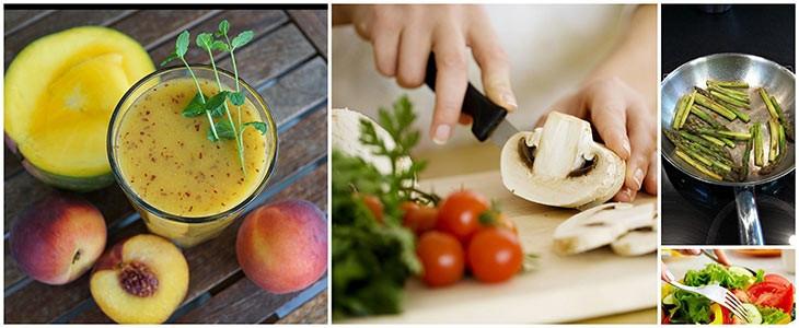 Cours de cuisine diététique à Quimper dans le Finistère