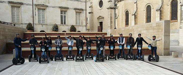 Visite insolite de Nîmes en segway