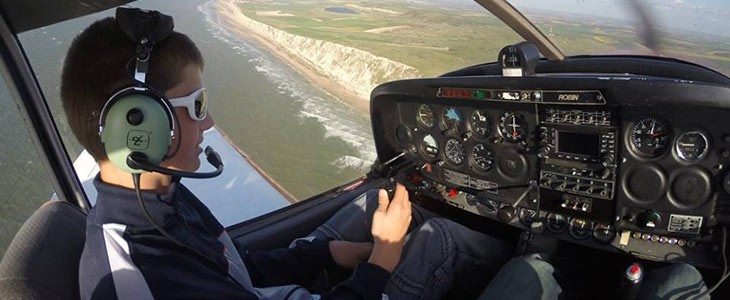 Vol d'initiation au pilotage d'un avion à Le Touquet