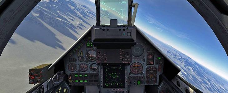 Simulateur de vol en Mirage proche Lille