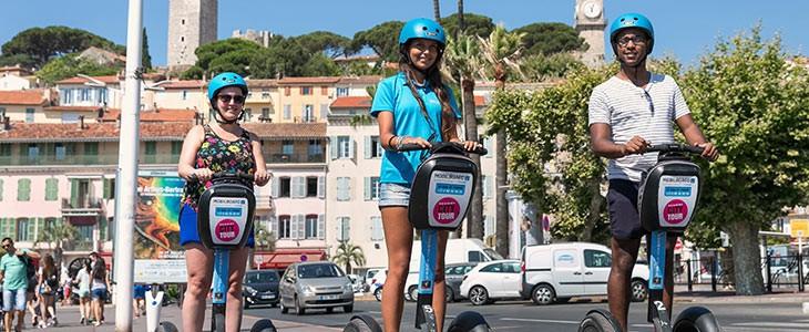 Visite insolite de Cannes en Segway