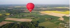 Vol en montgolfière privé à Saumur, Anjou