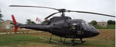 Vol en hélicoptère à Rodez, Aveyron